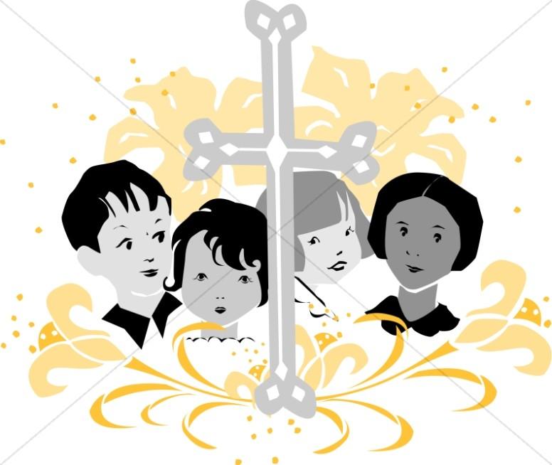 Youth choir kids images. Chorus clipart cute
