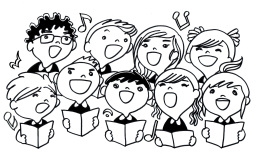 Bay park choir spring. Chorus clipart elementary chorus