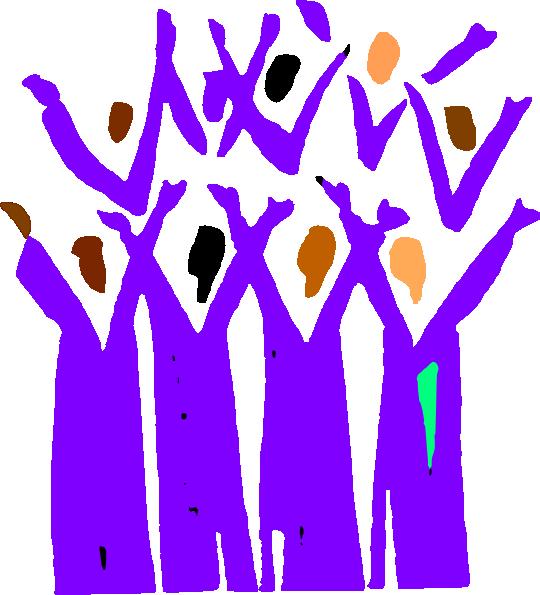 Jazz clipart worship. Gospel choir clip art