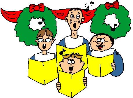 . Choir clipart holiday