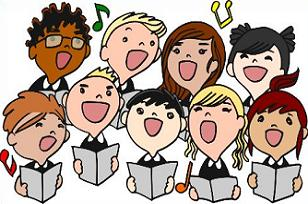 Free childrens. Choir clipart holiday