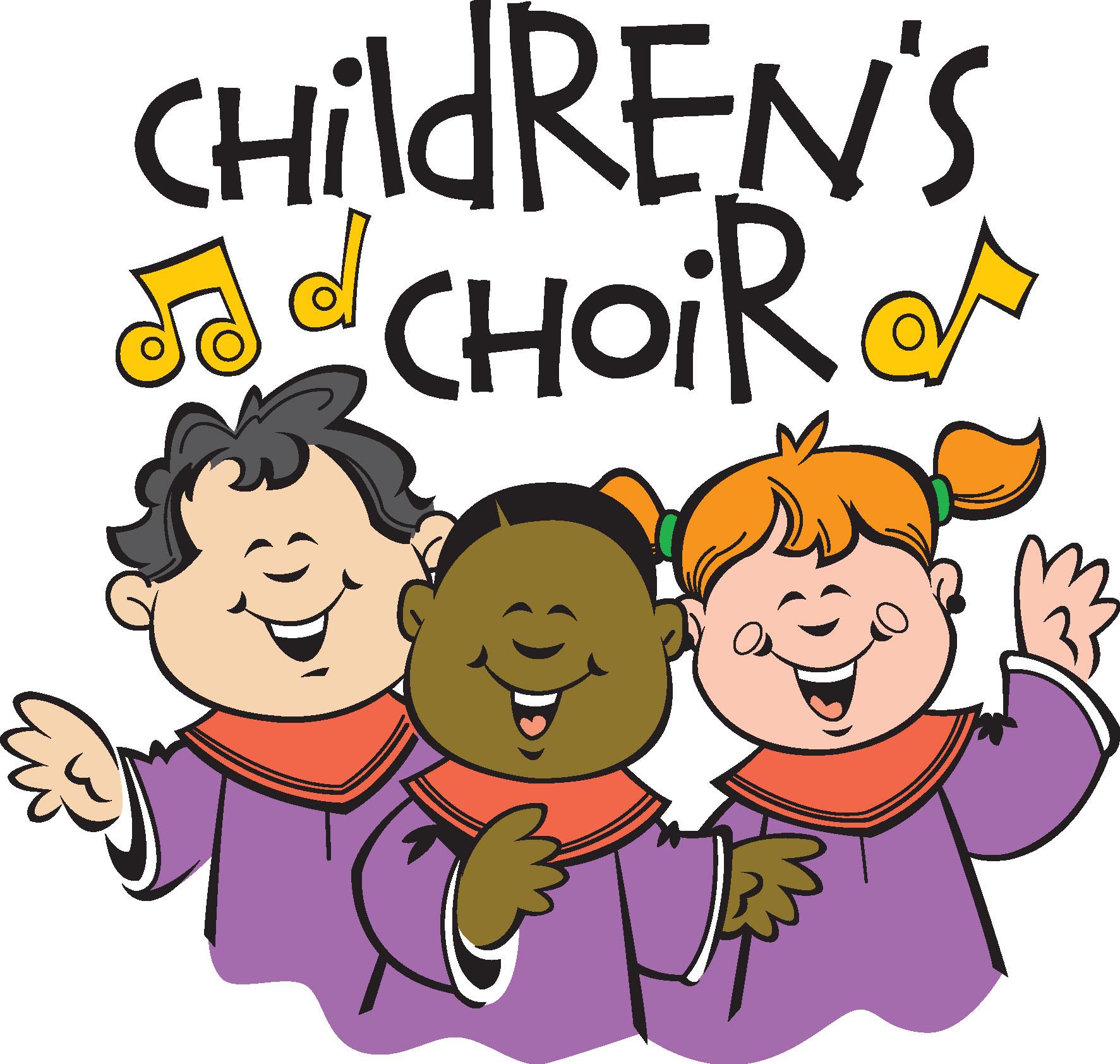 Junior choir carol service. Chorus clipart children's