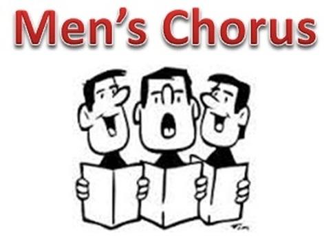 choir clipart men's chorus