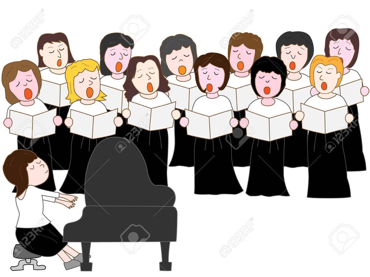 choir clipart party
