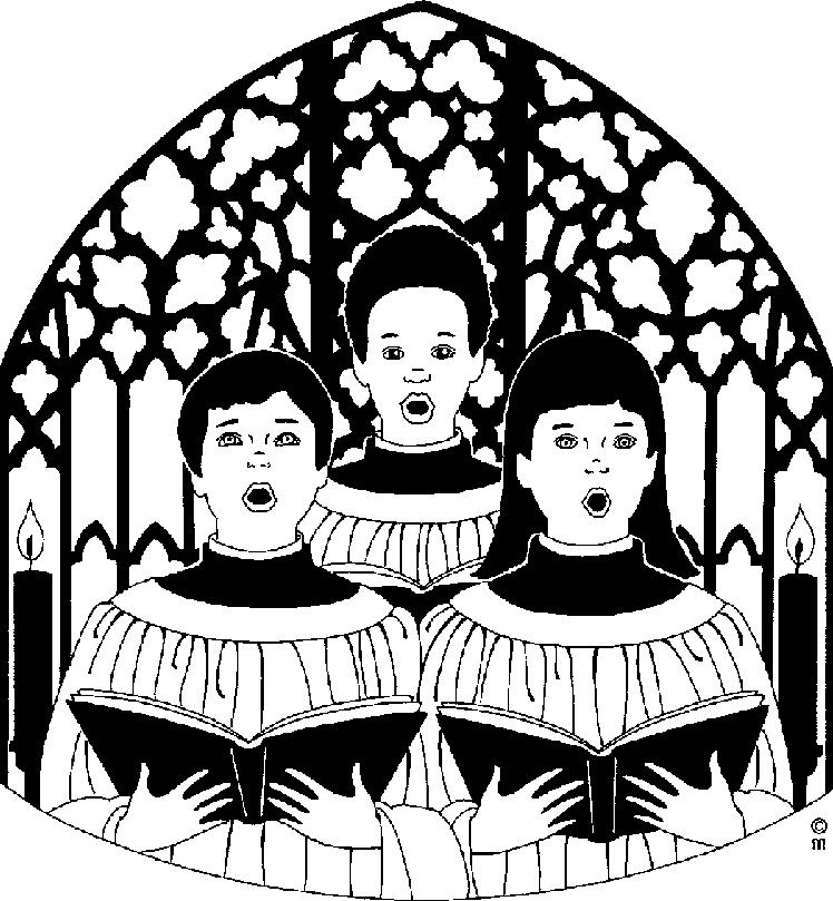 Free pictures clipartix black. Choir clipart religious