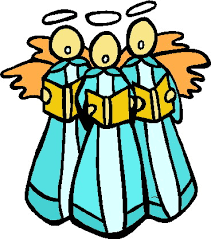 Image result for christmas. Choir clipart religious