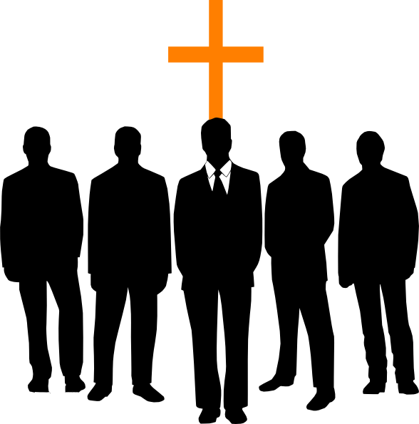 Employee clipart work clipart. Black men in church