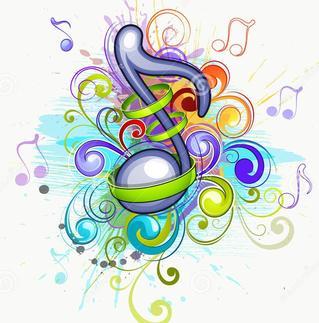 Music program chancel. Choir clipart senior citizen