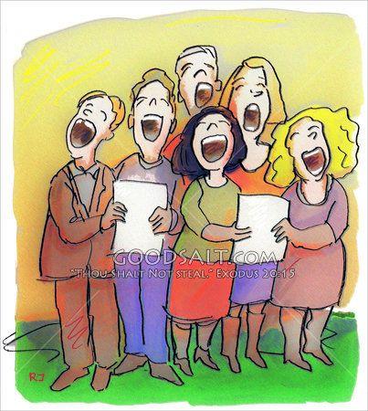 best images on. Choir clipart senior citizen