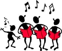 Choir clipart show choir. Parish of celbridge straffan