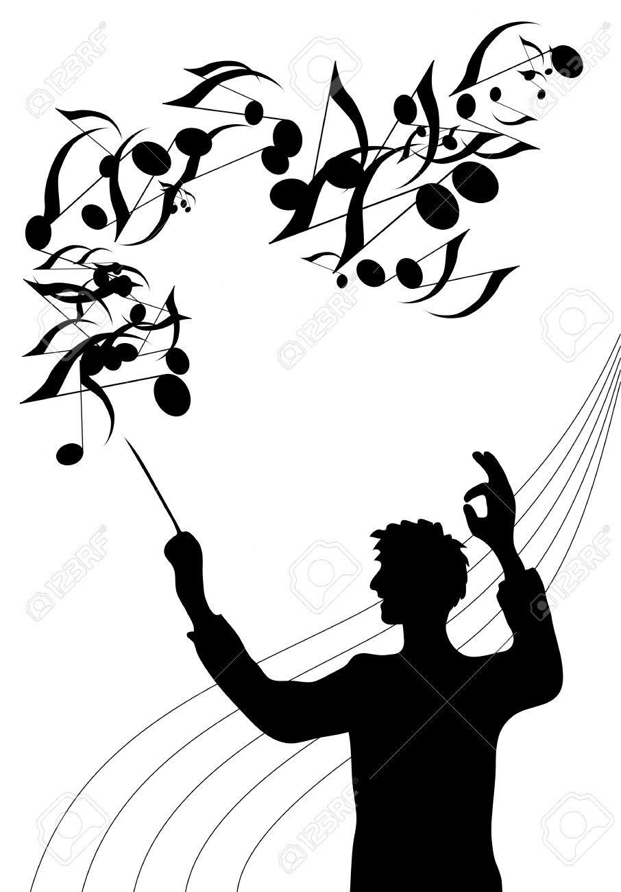 Choir clipart silhouette, Choir silhouette Transparent ...
