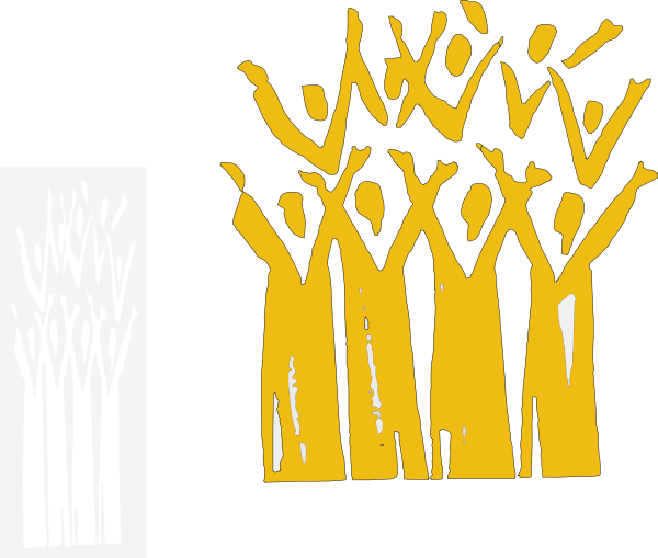 Choir clipart silhouette. At getdrawings com free