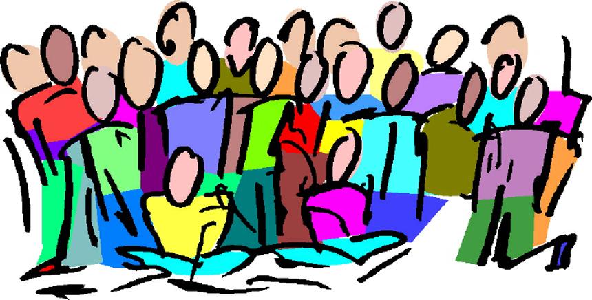 Contact us woodbridge community. Choir clipart spring