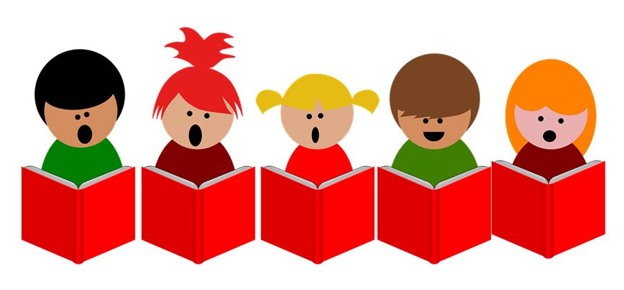 Success and youthful choral. Choir clipart student