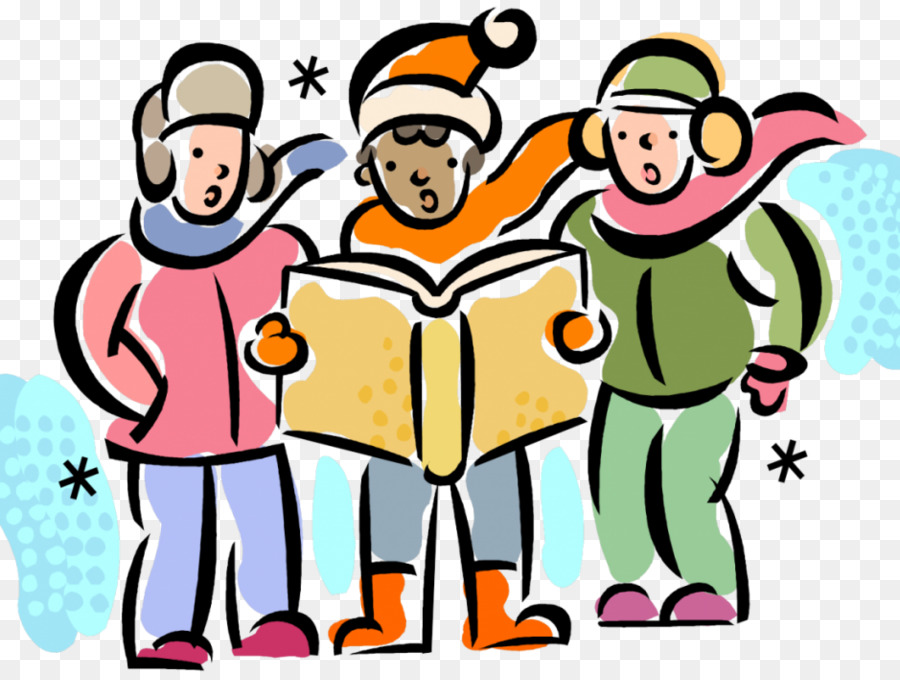Choir clipart winter. Group of people background