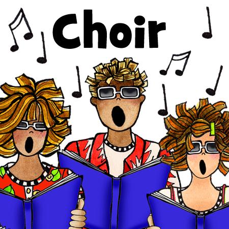 Chorus clipart women's. Sports fan mamas suzy