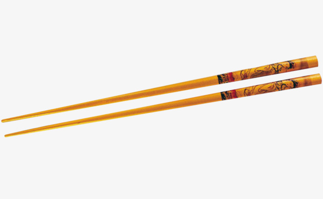 Chopsticks clipart. Vector hand painted png