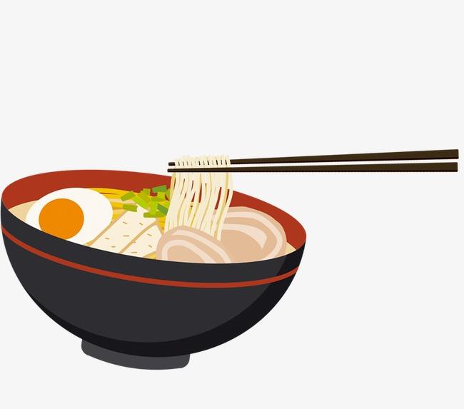 Chopsticks clipart bowl. Ramen black egg png