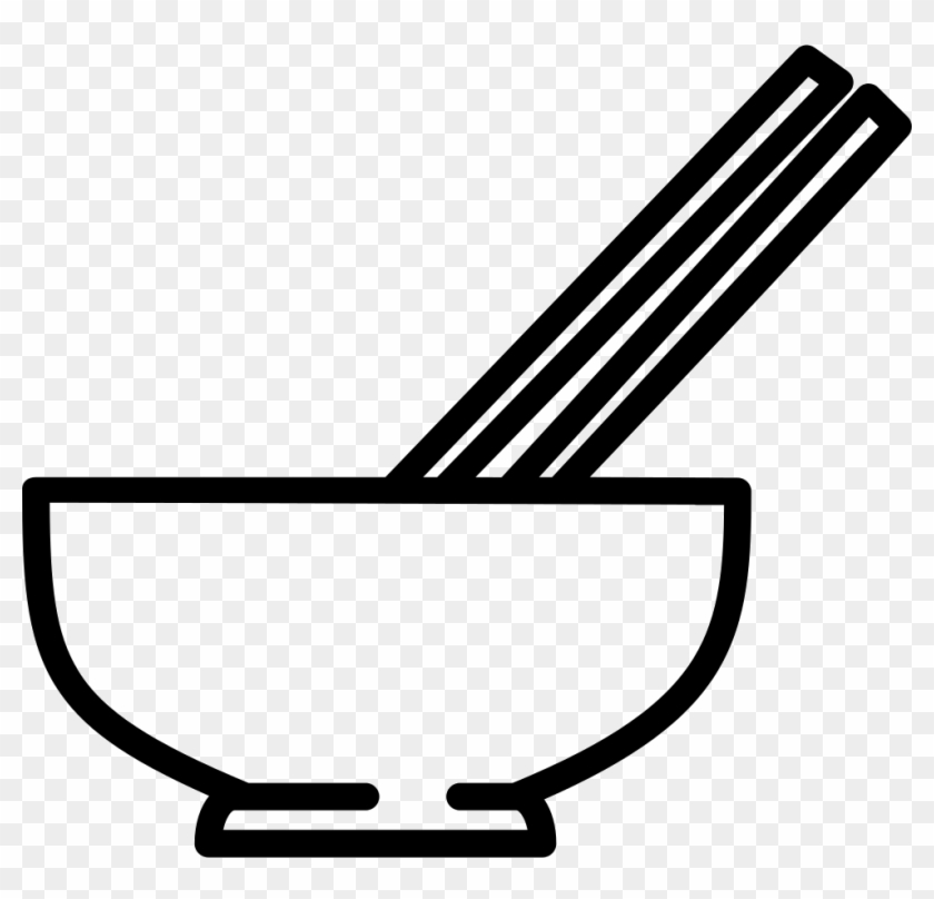 Chopsticks clipart bowl. Png file svg with