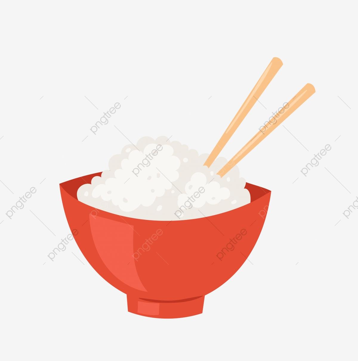 Food cartoon eat png. Chopsticks clipart bowl rice