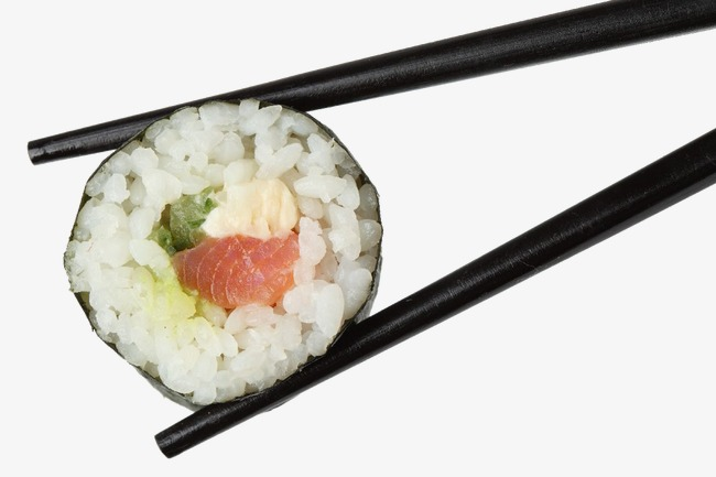 Chopsticks clipart chopstick rice. Sushi on japan png