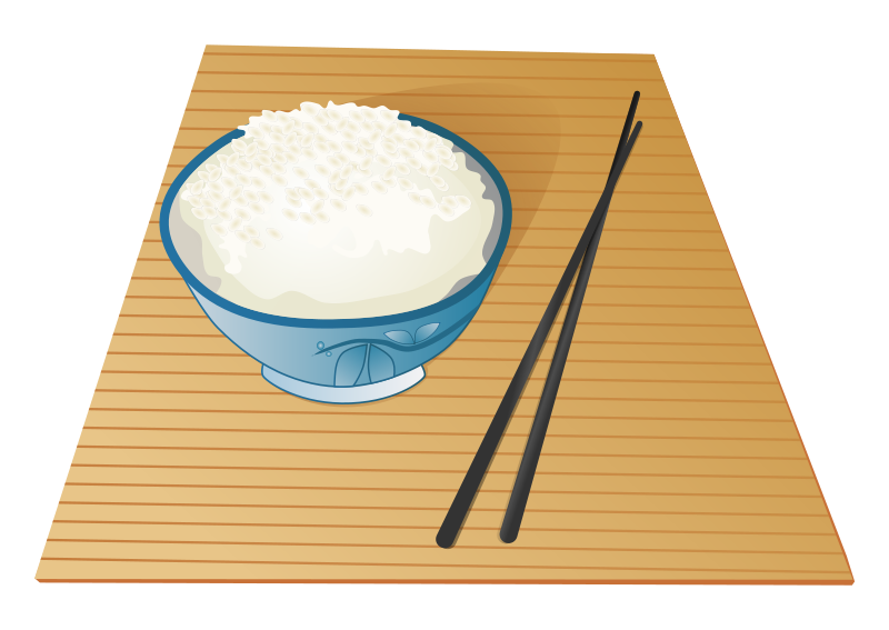 Asian food bowl of. Noodles clipart chopstick noodle