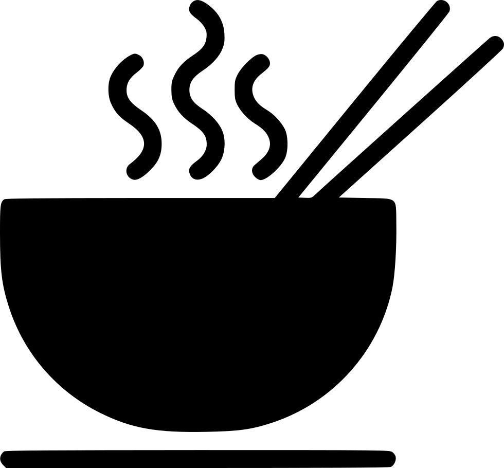Noodle hot chopstick eat. Soup clipart bowl soup