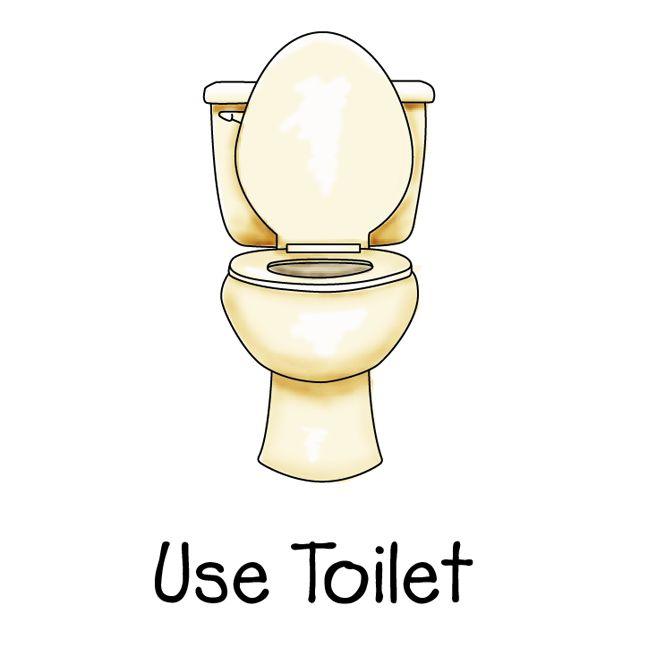 Chore clipart bathroom. Go potty chart kids