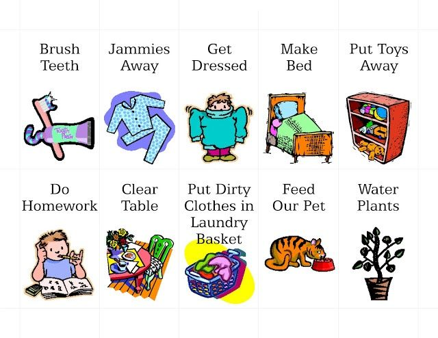 Chore image group best. Chores clipart