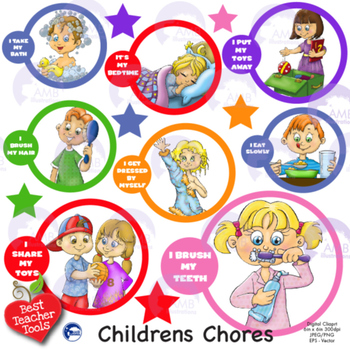 Chores clipart children's, Chores children's Transparent ...