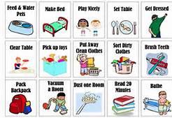 Chores group free printable. Chore clipart chore chart
