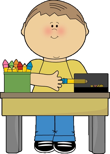 Chores clipart classroom. Student in class png