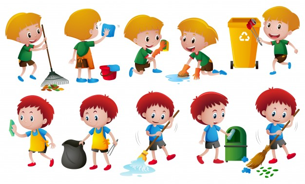 Age appropriate chores and. Chore clipart helpful