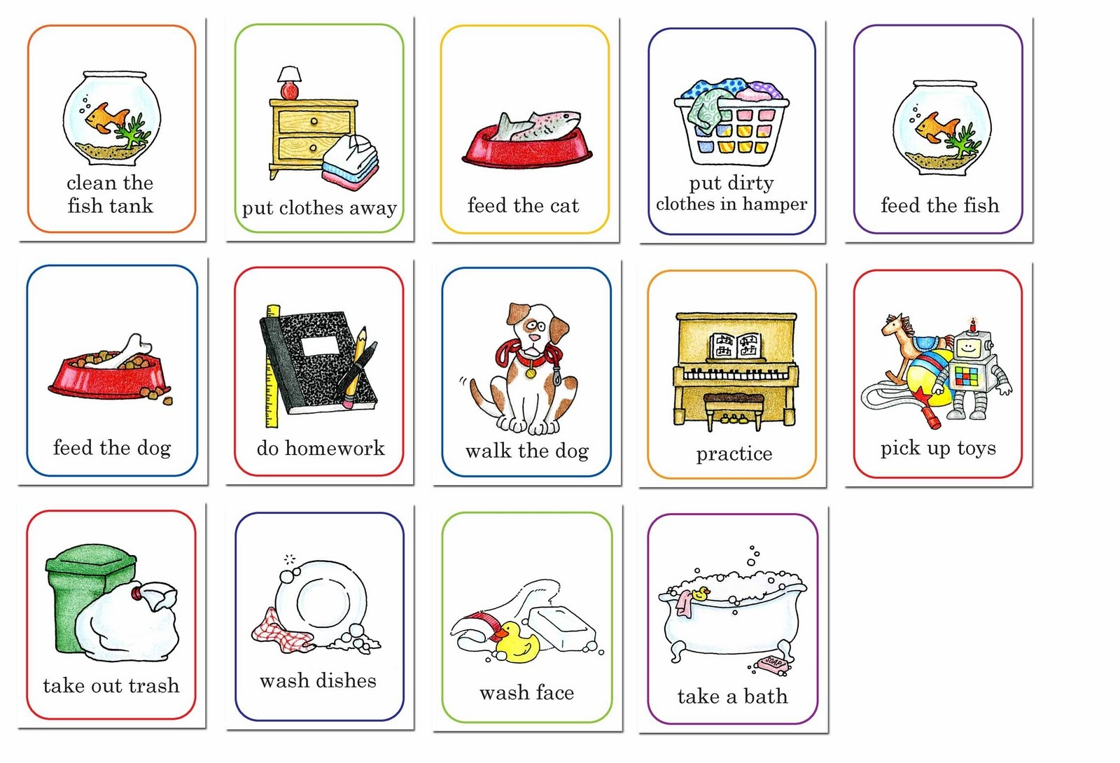 Chore clipart homework. Best of chores collection