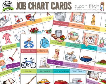 Chore clipart homework. Job chart clip art
