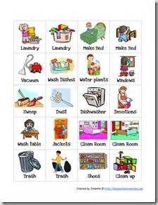 best kids chores. Chore clipart homework
