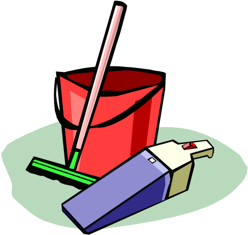 Chore clipart household chore. Free chores picture of