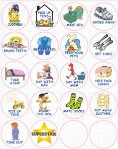 Chores clipart preschool. Circular chore chart yahoo