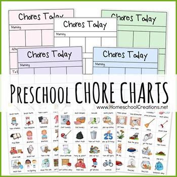 Preschool chore example jpg. Chart clipart money chart
