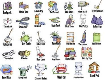 Free chore clip art. Chores clipart printable