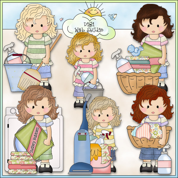 collection of helping. Chore clipart school