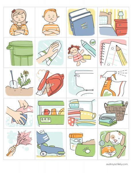 Chore clipart school.  best beautiful printables