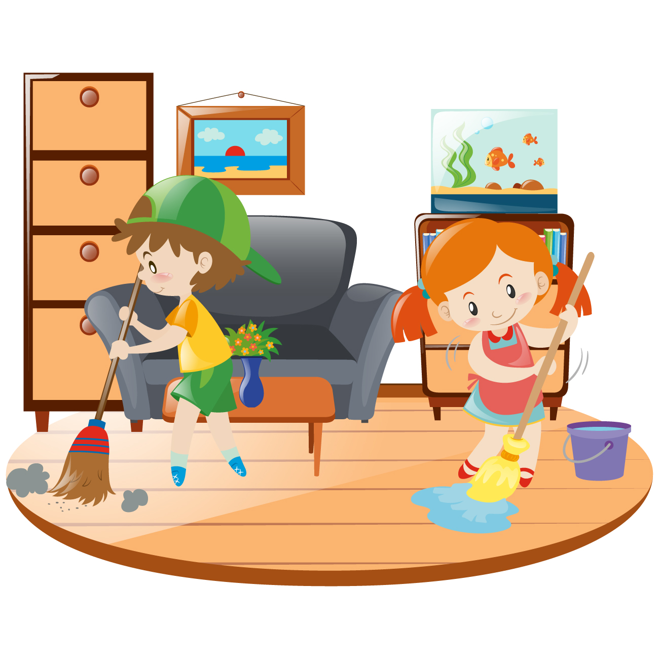 Chores clipart to do. How get your children
