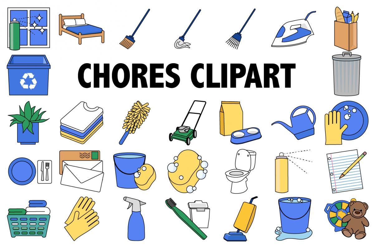Chores . Chore clipart clip art