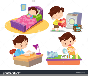 Child free images at. Chores clipart clip art