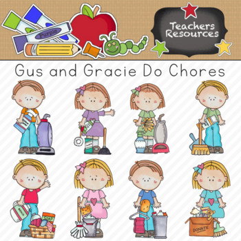 Clipart school chore. Chores teaching resources teachers