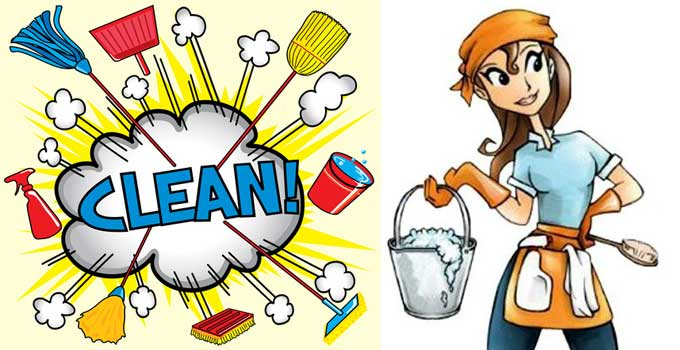 Chores clipart daily. No time for work