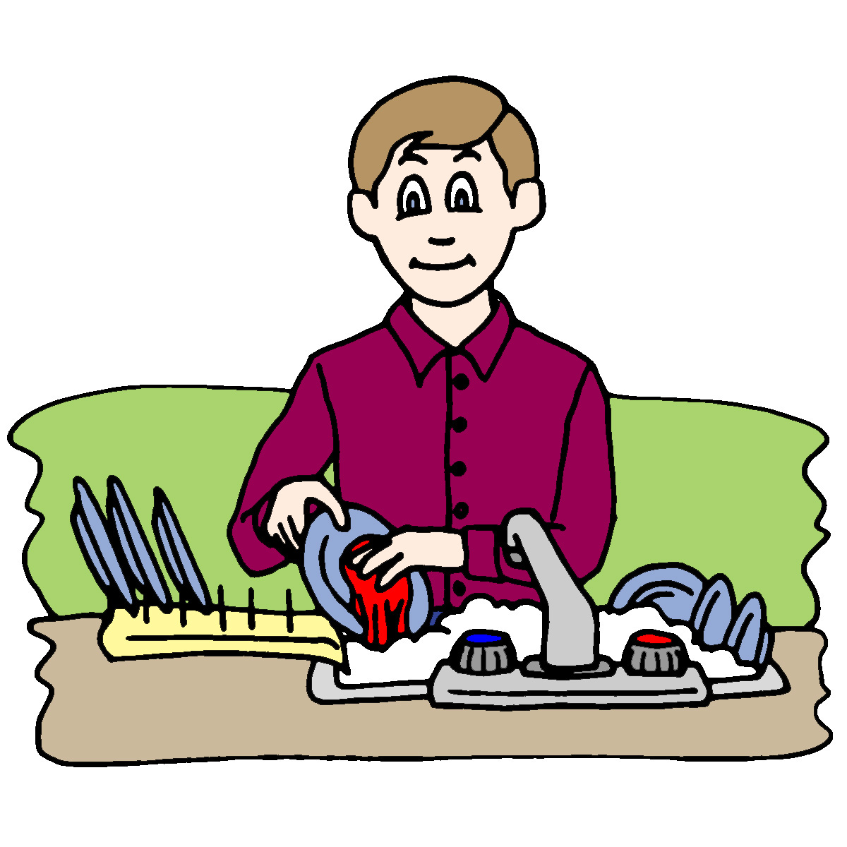 Gloria s bits and. Chores clipart household activity