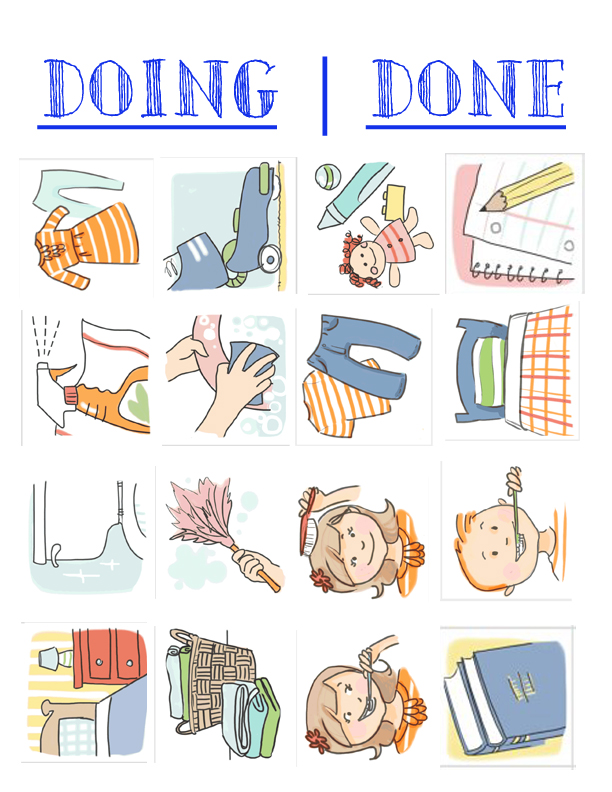 Chores clipart job chart. Inexpensive easy chore for
