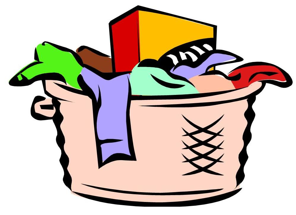 Chores clipart laundry. Free hamper cliparts download